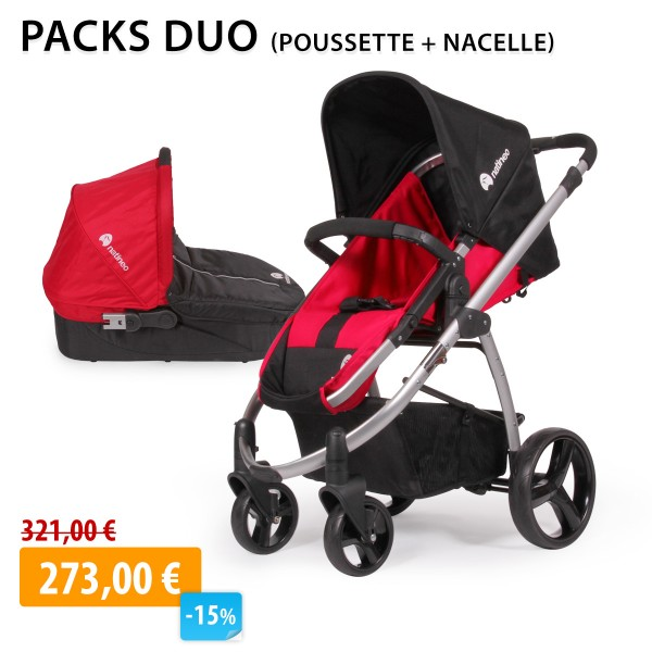 duo-poussette-4-roues-nacelle-fileo-rouge