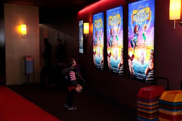 """Avant-premi?re du film """"CLOCHETTE ET LA FEE PIRATE"""" au Gaumont Champs Elys?es"""